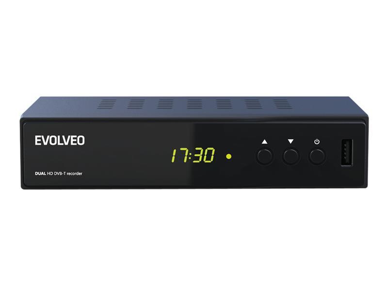 EVOLVEO Delta HD Dual HD DVB-T rekordér