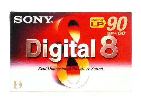 SONY Hi8 Páska pro digitální záznam N860P2