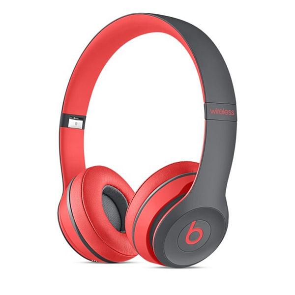 Apple Beats by Dr. Dre Solo 2 Wireless On-Ear Headphones Active Collection - Red