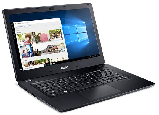 "Acer Aspire V13 Touch (V3-372T-55G1) i5-6267U/2x4GB/256 GB SSD+N/Graphics 550/13"" FHD IPS MultiTouch LED/BT/W10 Home/Black"