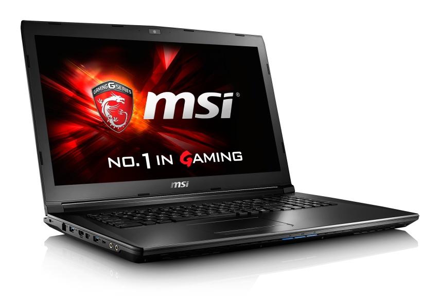 """MSI GL72 6QD-037CZ/ i7-6700HQ Skylake/8GB/1TB HDD 7200 ot./DVD RW/GTX950M, 2GB/17,3"""" FHD/ W10"""