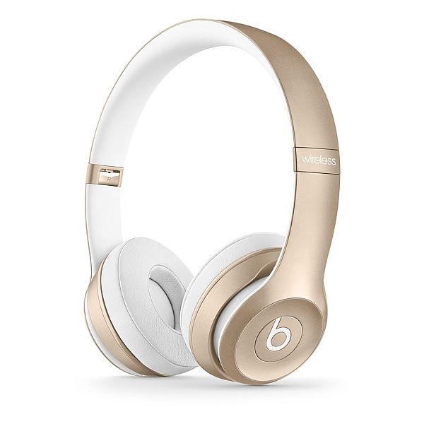 Apple Beats by Dr. Dre Solo 2 Wireless On-Ear Headphones - Gold
