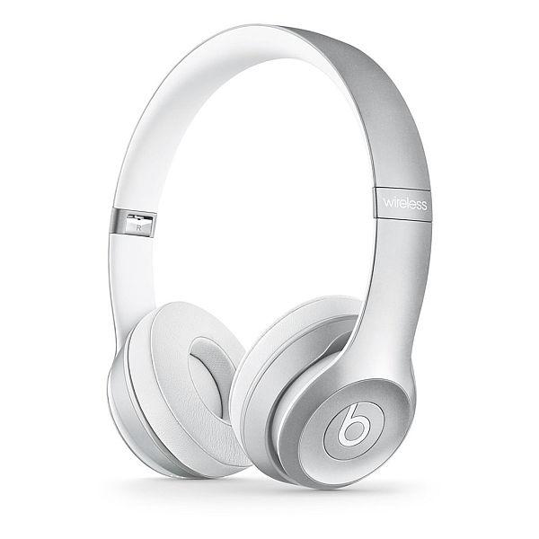 Apple Beats by Dr. Dre Solo 2 Wireless On-Ear Headphones - Silver