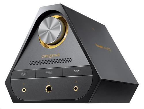 CREATIVE Sound Blaster X7, digitálně-analogový převodník s USB, zesilovač zvuku s dekodérem Dolby Digital (externí zvukovka)