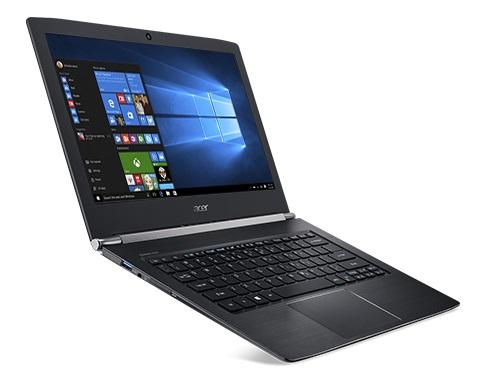 """Acer Aspire S 13 (S5-371-562G) i5-6200U/8GB DDR3/SSD 256GB/13,3""""FHD IPS/HD Graphics/W10 Black"""