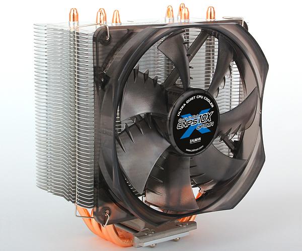 Zalman chladič CPU CNPS10X OPTIMA(2011), univ. socket, 120mm PWM fan, 4x heatpipe