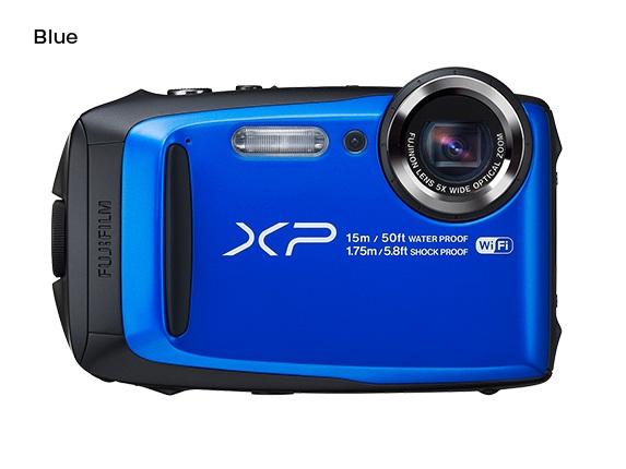 Fujifilm FinePix XP90 - 16,4 MP, 5x zoom CST - Blue