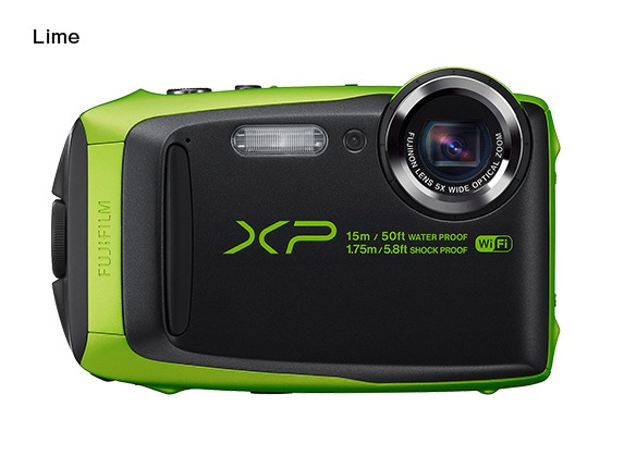 Fujifilm FinePix XP90 - 16,4 MP, 5x zoom CST - Lime