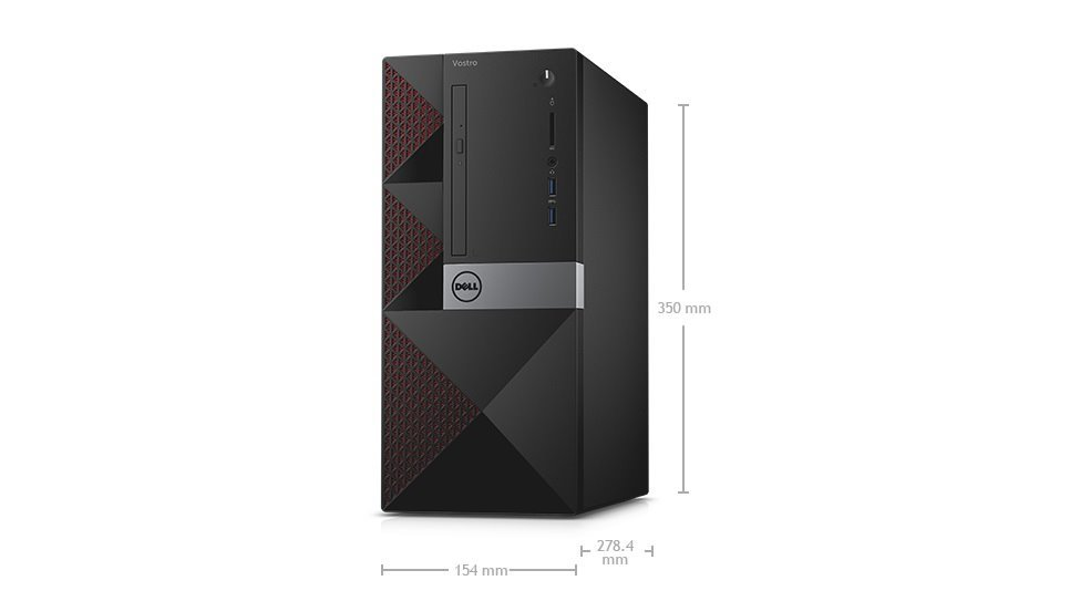 DELL Vostro 3650 MT/i5-6400/4GB/500GB/Intel HD/DVD-RW/Win10 Pro 64bit