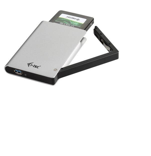 """i-Tec MySafe Advance Clip externí case pro 2,5"""" SATA, USB3.0 - bez HDD"""