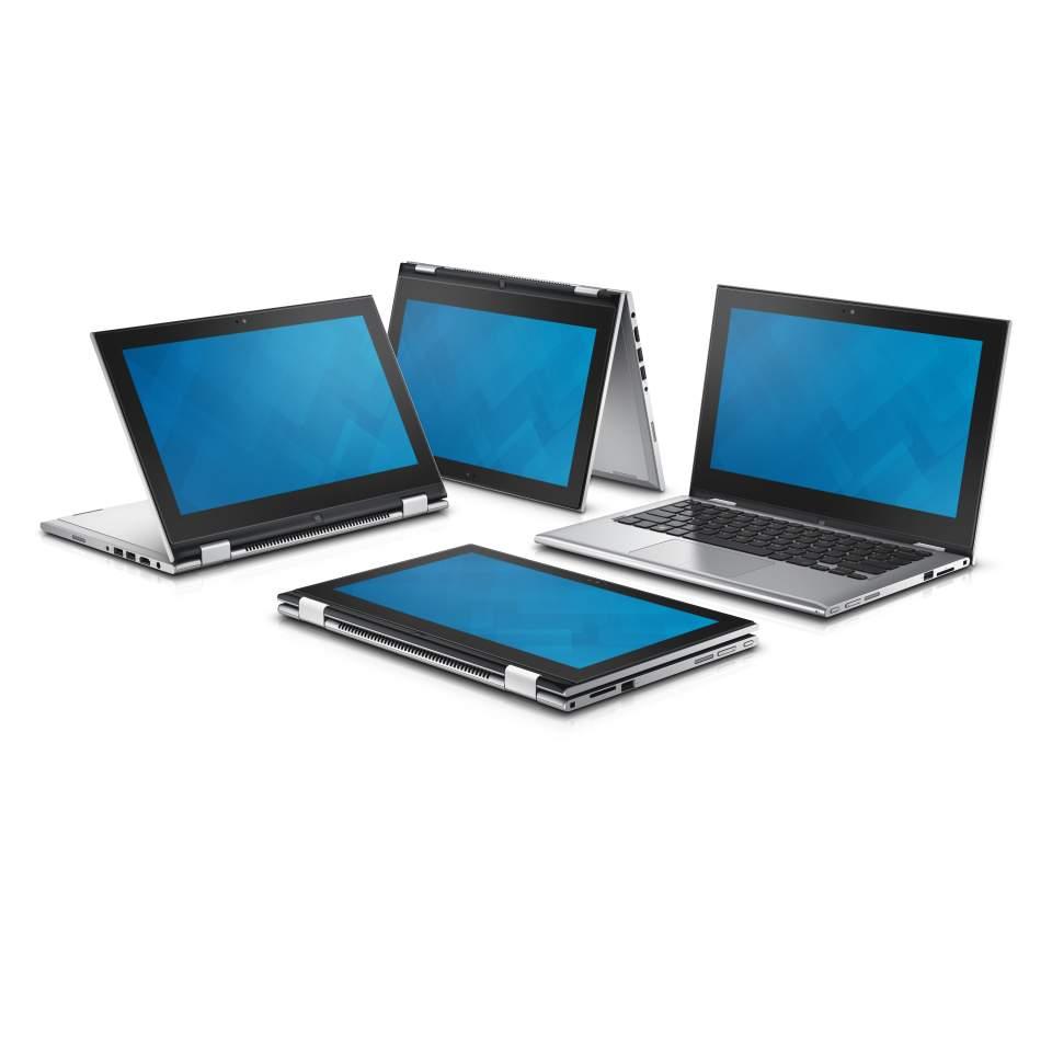 "Dell Inspiron 11z (3148) 2v1/i3 4030U/4GB/500GB/11.6"" Touch/Win 10/stříbrný"