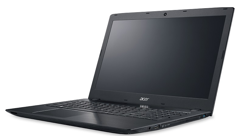 "Acer Aspire E15 (E5-575-57UP) i5-7200U/4GB+N/256GB SSD M.2+N/DVDRW/HD Graphics/15.6"" FHD lesklý/BT/W10 Home/Black"