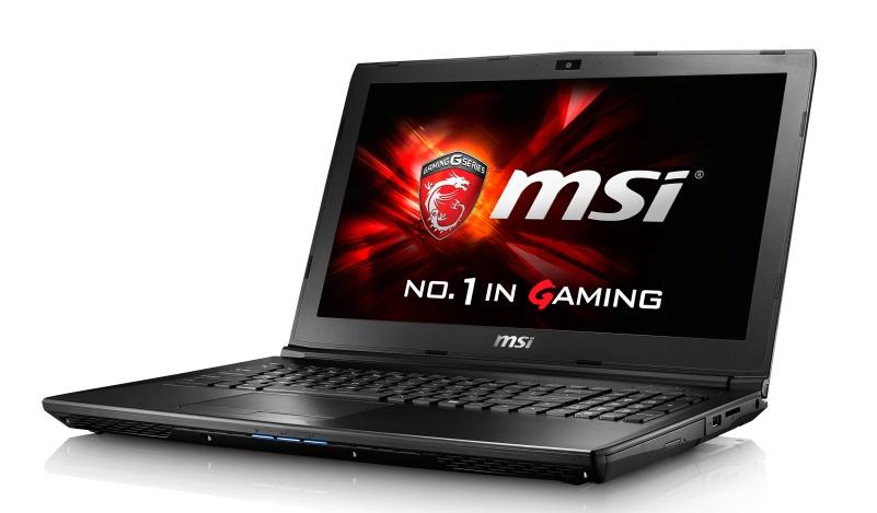 """MSI GL62 6QD-002CZ / i7-6700HQ Skylake/8GB/1TB HDD 7200 ot./DVDRW/GTX950M 2GB/15.6"""" FHD/Win 10"""