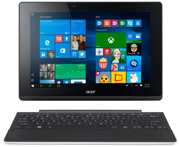 "Aspire Switch 10 E (SW3-016-14U6) Z830/10""1200x800/2GB/64GB/W10 Home/docking White"