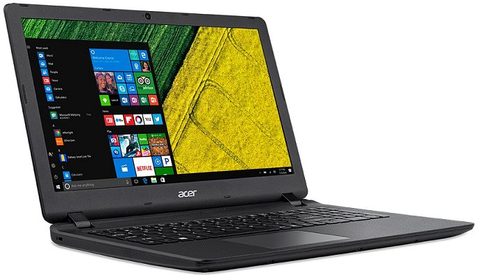 "Acer Aspire ES 15 (ES1-533-C252) Celeron N3350/4 GB+N/A/128 GB SSD+N/HD Graphics/15.6"" FHD LED matný/BT/W10 Home/Black"