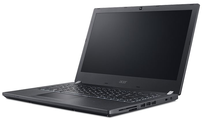 "Acer TravelMate P449-M-56AP i5-6200U/4GB+4GB/256GB SSD M.2+N/HD Graphics/14"" FHD IPS matný/BT/W10 Pro/Black"