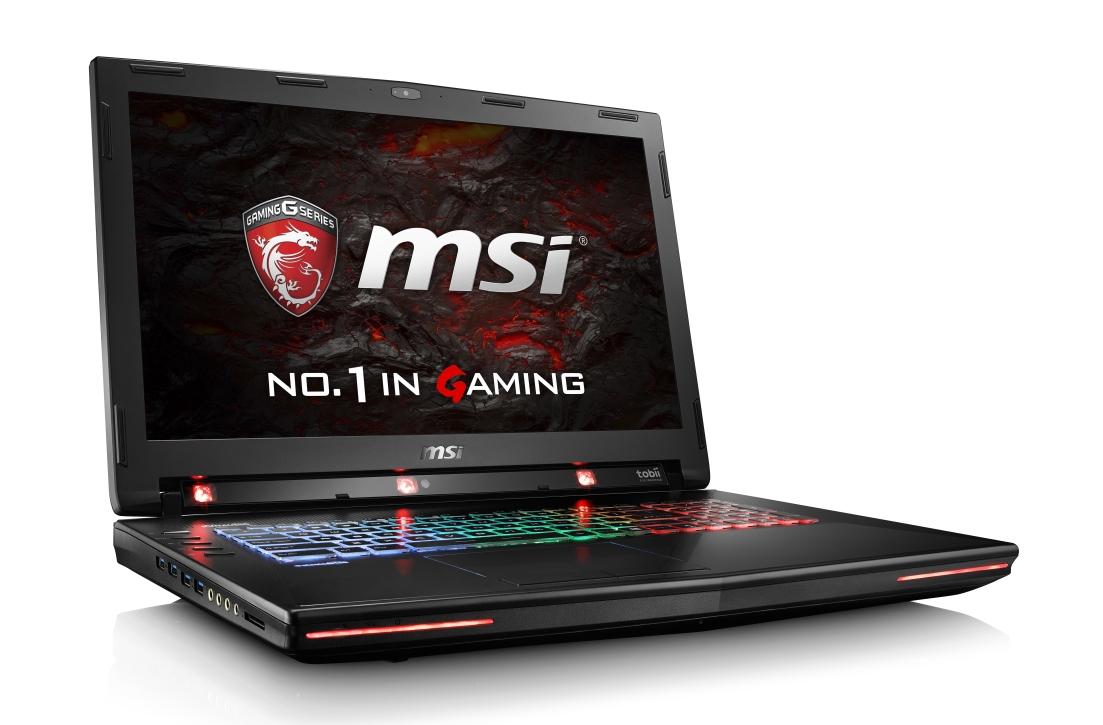 """MSI GT72VR 6RE-400CZ Dominator Pro Tobii/ i7-6700HQ Skylake/16GB/256GB SSD+1TBHDD/GTX1070,8GB/BDRW/17,3"""" FHD(120Hz)/ W10"""