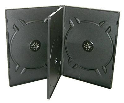 Krabička na 4x DVD černá