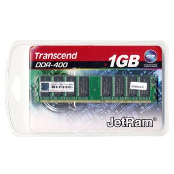 Transcend paměť DDR 1GB 400MHz CL3 Doživotní záruka