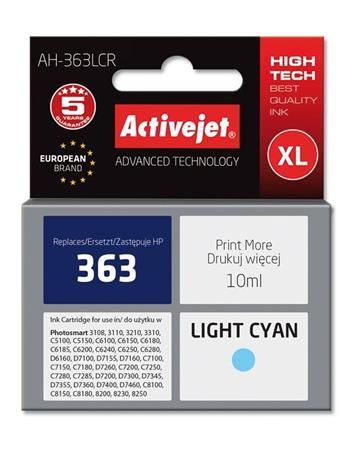 ActiveJet Ink cartridge HP 8774 Lig.Cyan ref. no363 - 10 ml AH-774