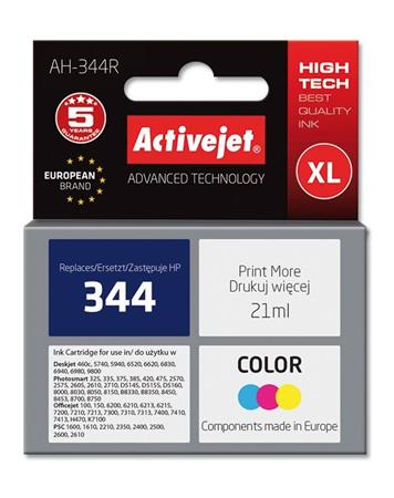 ActiveJet Ink cartridge HP 9363 Col ref. no344 - 21 ml