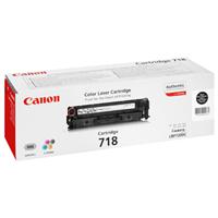 Canon toner CRG-718Bk black (CRG718BK)