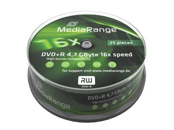 MEDIARANGE DVD+R 4,7GB 16x Cake 25