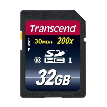 Transcend 32GB SDHC (Class 10) paměťová karta