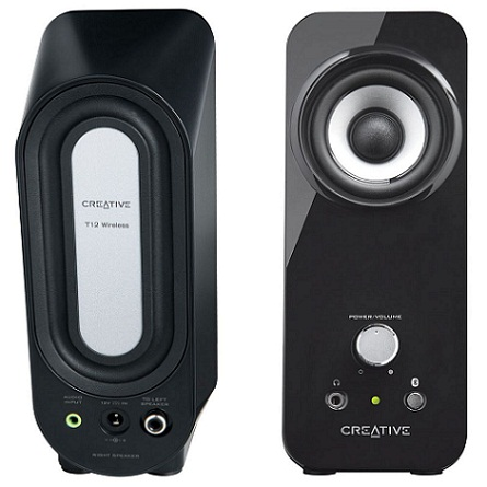 Creative Inspire T12, wirelles reproduktory 2.0, RMS 20W
