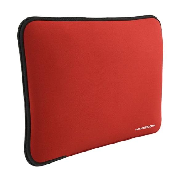 """Modecom neoprenový obal BROOKLYN S1 na notebooky velikosti 16"""" - 18"""", červený"""