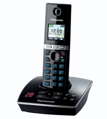 Panasonic KX-TG8061FXB, bezdrát. telefon, záznamník