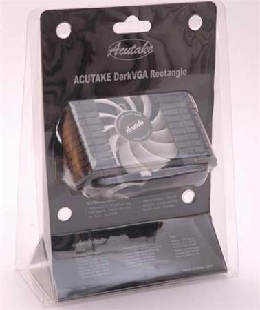 Acutake ACU-DVR 01 DarkVGA Rectangle, chladič karet, (113x80x40), GeForce 4, FX 5700, 5800, 5900, 5950, 5900 LE,