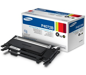Samsung toner CLT-P4072B/ELS pro CLP-320/325,CLX-3185 - TwinPack (2x černý CLT-K4072S)