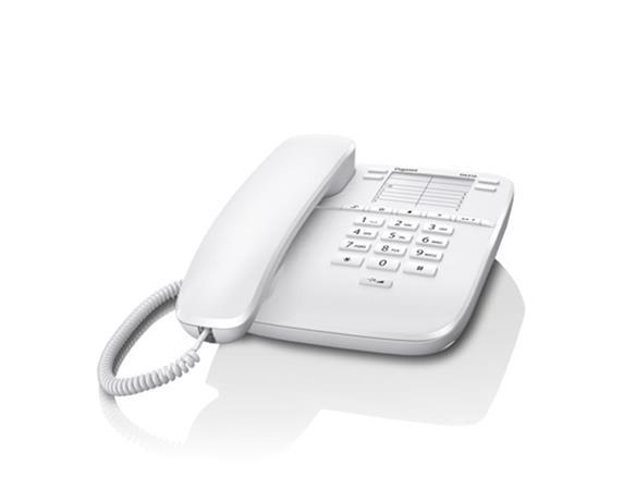 SIEMENS Gigaset DA310 - standardní telefon bez displeje, barva bílá