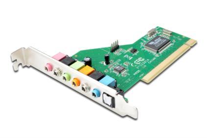 Digitus PCI zvuková karta 7.1, S/PDIF