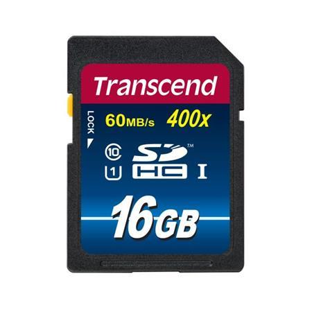 Transcend 16GB SDHC (Class 10) UHS-I 300X paměťová karta
