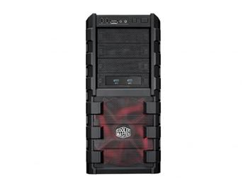 CoolerMaster case miditower HAF 912 Advanced, ATX, USB3.0, bez zdroje, black