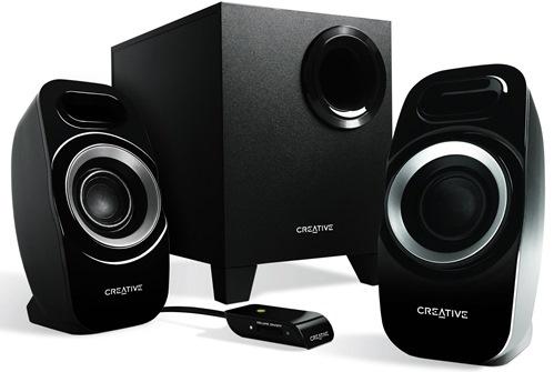 Creative reproduktory Inspire T3300 2.1, 20W, černé