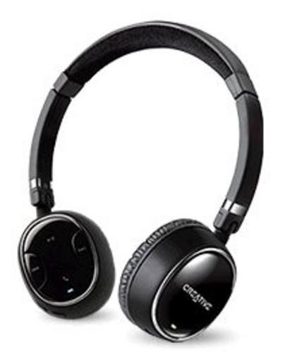 Creative bezdrátová Bluetooth sluchátka s mikrofonem WP-350 - černá