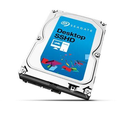 """Seagate Desktop SSHD, 2TB HDD, 8GB SSD, 3.5"""", SATAIII, 64MB cache, 7.200RPM"""