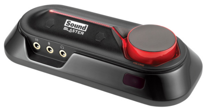 Creative Sound Blaster OMNI SURROUND 5.1, externí zvuková karta, USB,SBX pro studio