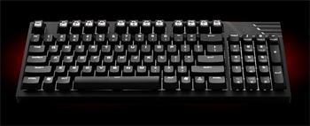 CM STORM mechanická klávesnice Quickfire TK-soft click, 1000Hz/1ms, US verze, USB, black, BROWN switches