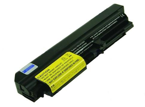 2-Power baterie pro LENOVO ThinkPad R400/R61/T400/T61 series, Li-ion (6cell), 10.8V, 5200mAh