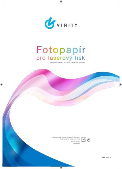 VINITY Fotopapír pro laser tiskárny, Matte, 200 g, A4, 10 sheets