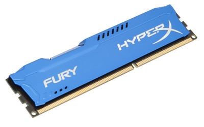KINGSTON 16GB 1866MHz DDR3 CL10 DIMM (Kit of 2) HyperX FURY Blue Series