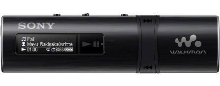 SONY NWZ-B183 – Přehrávač WALKMAN® s portem USB, 4GB BLACK