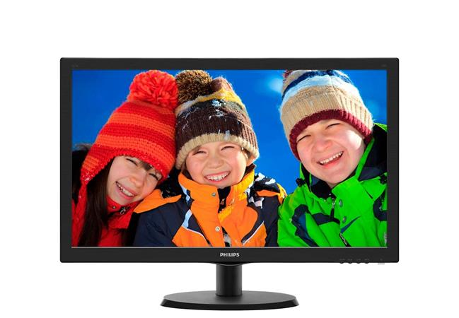 "Philips LCD 223V5LSB 21,5""wide/1920x1080/5ms/10mil:1/DVI/LED"