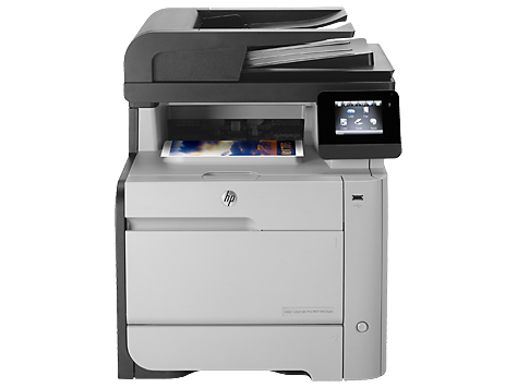 HP CLJ Pro 400 Color MFP M476dn (A4, 20/20 ppm, USB 2.0, Ethernet, Print/Scan/Copy/Fax),Duplex, DADF