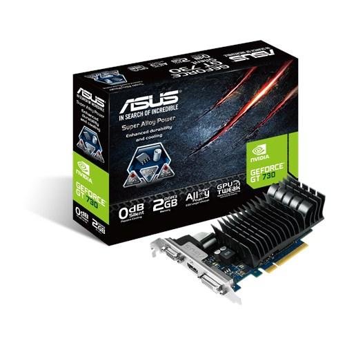 ASUS GT730-SL-2GD3-BRK, NVIDIA GeForce GT 730, GDDR3 2GB, D-sub, DVI, HDMI