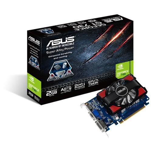 ASUS GT730-2GD3, NVIDIA GeForce GT 730, DDR3 2GB, D-sub, DVI, HDMI